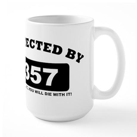 property of protected by 357 b Mug