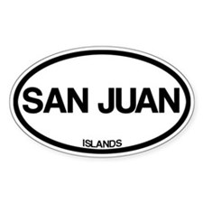 San Juan Islands Bumper Stickers