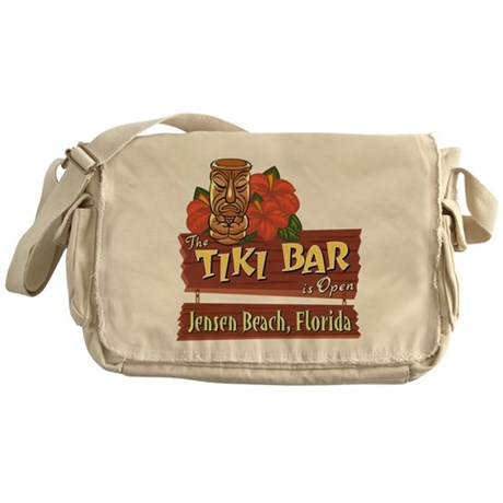 TikiBarOpenJensenBeach.png Messenger Bag