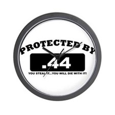 property of protected by 44 b Wall Clock
