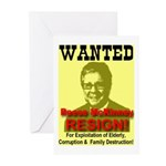 Wanted Reese McKinney Resigna Greeting Cards (Pack