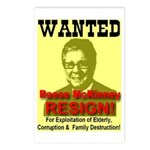 Wanted Reese McKinney Resigna Postcards (Package o