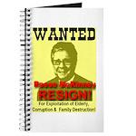 Wanted Reese McKinney Resigna Journal