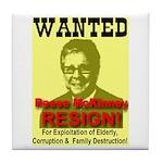 Wanted Reese McKinney Resigna Tile Coaster