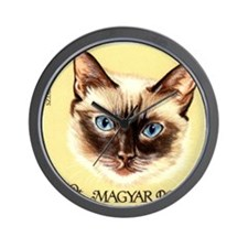 Vintage 1968 Hungary Siamese Cat Postage Stamp Wal