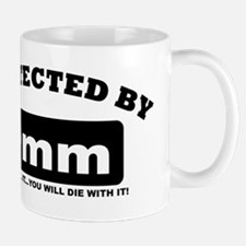 property of protected by 9mm b Mug