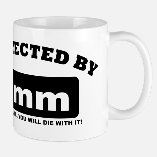 property of protected by 8mm b Mug