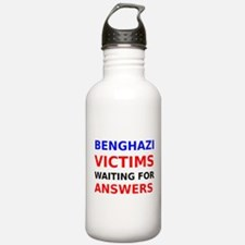 Benghazi Victims waiting for Answers Water Bottle