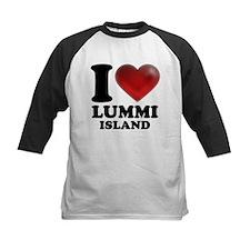 I Heart Lummi Island Baseball Jersey