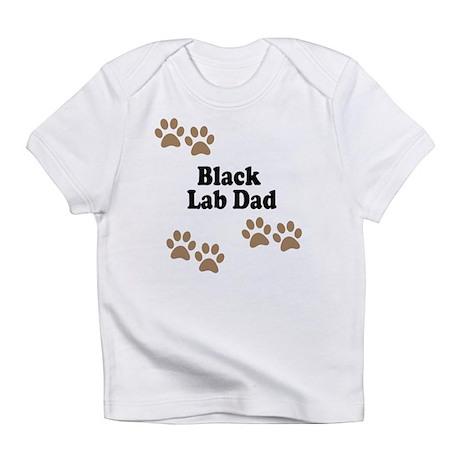 Black Lab Dad Infant T-Shirt
