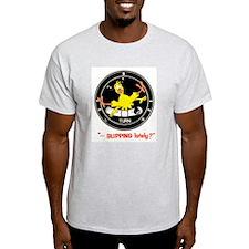 SLIPPING LATELY Ash Grey T-Shirt