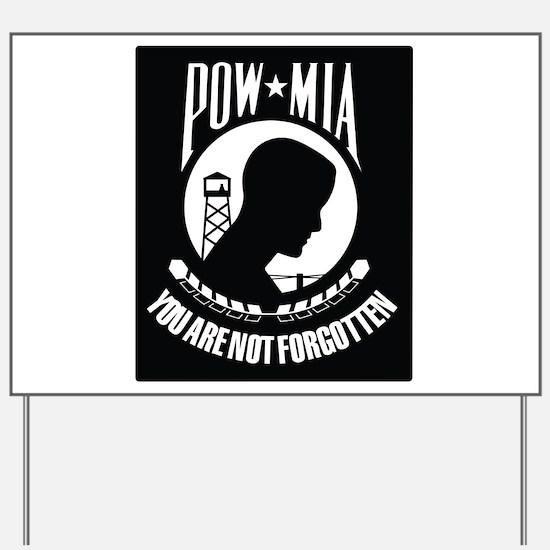 POW MIA Yard Sign