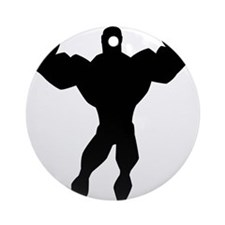 Strong Guy Ornament (Round)