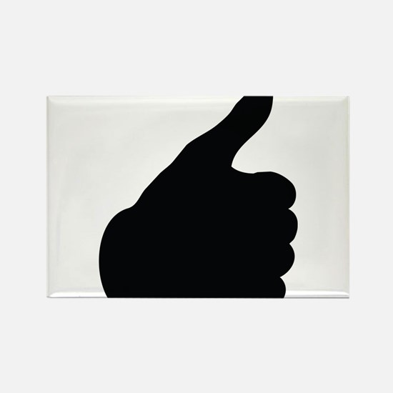 Thumbs Up Rectangle Magnet