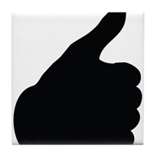 Thumbs Up Tile Coaster