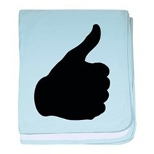 Thumbs Up baby blanket