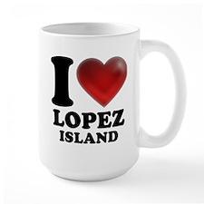 I Heart Lopez Island Mug