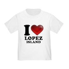 I Heart Lopez Island T-Shirt
