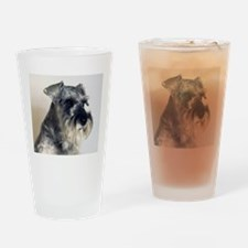 Every Day is Better with a Schnauzer Drinking Glas