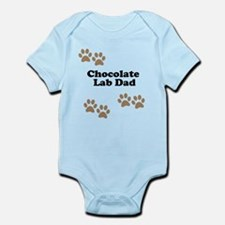 Chocolate Lab Dad Body Suit
