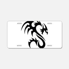 Tribal Dragon Aluminum License Plate