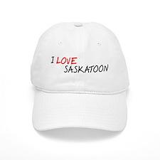 I Love Saskatoon Baseball Cap