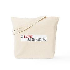 I Love Saskatoon Tote Bag