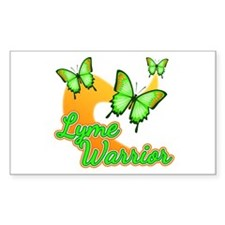 Lyme Warrior Butterflies Decal