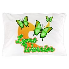 Lyme Warrior Butterflies Pillow Case
