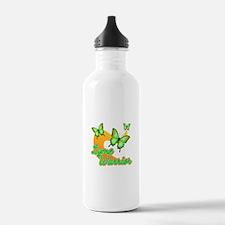Lyme Warrior Butterflies Water Bottle