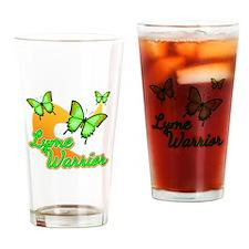 Lyme Warrior Butterflies Drinking Glass