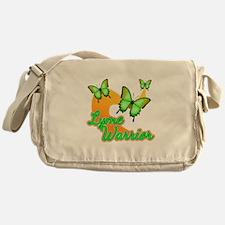 Lyme Warrior Butterflies Messenger Bag