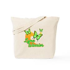 Lyme Warrior Butterflies Tote Bag