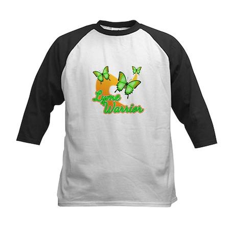 Lyme Warrior Butterflies Kids Baseball Jersey