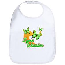 Lyme Warrior Butterflies Bib