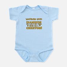 Cheetoh cat mommy designs Infant Bodysuit