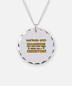 Cheetoh cat mommy designs Necklace
