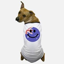 Australian flag smiley face Dog T-Shirt