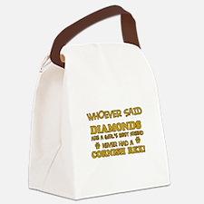 Cornish Rex cat mommy designs Canvas Lunch Bag