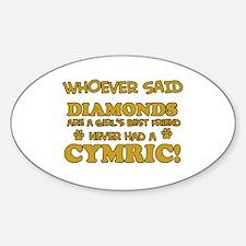 Cymric cat mommy designs Decal