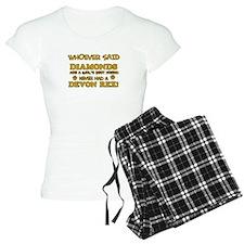 Devon Rex cat mommy designs Pajamas