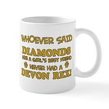 Devon Rex cat mommy designs Mug