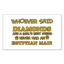 Egyptian Mau cat mommy designs Decal