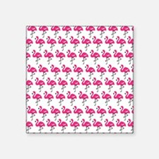 Flamingos Marching Sticker