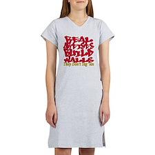 Anti Graffiti Women's Nightshirt
