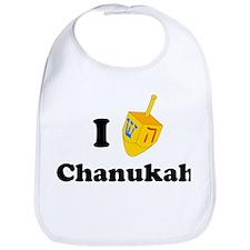 """""""I love Chanukah"""" Bib"""