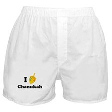"""I love Chanukah"" Boxer Shorts"