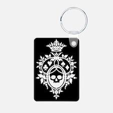 Gothic Skull Crest Keychains