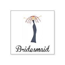 Elegant Bridesmaid Sticker