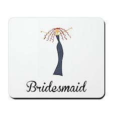Elegant Bridesmaid Mousepad
